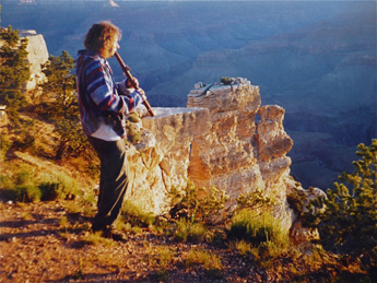 flute grand canyon summer solstice 1995